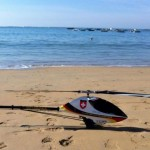 RC-Helitours Heli Camp Heli am Strand